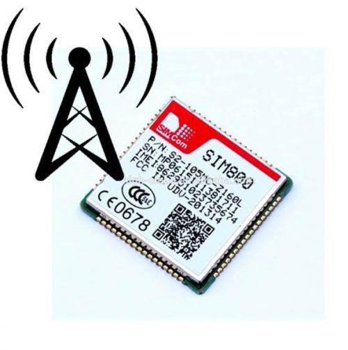 آموزش الکترونیک - پیام - GSM - sim800- sim900 -میکروکنترلر - ماژول- sim808 - sim900a - sim800L- sim800C - GSM - GPRS- GPS - رجیستر