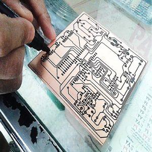 نرم افزار پروتئوس - proteus - مدار - شماتیک - طراحی - PCB - برد - الکترونیک - - الکتریک - برق - شبیه سازی - چاب برد - اسید کاری