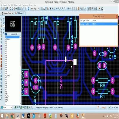آموزش الکترونیک - پروتئوس - proteus - طراحی - PCB - شماتیک - قطعات - الکترونیک - برد - فوت پرینت - مدار چاپی - پروتئوس