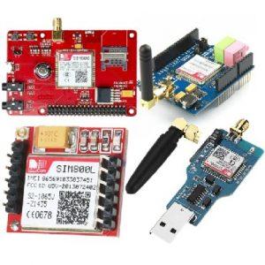 پیام -SMS - GSM - sim800- sim900 -میکروکنترلر - ماژول- sim808 - sim900a - sim800L- sim800C - GSM - GPRS- GPS – ماژول - شیلد – برد راه انداز