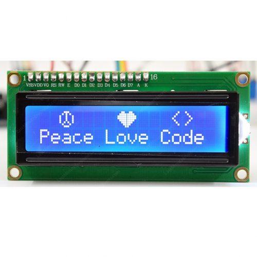 آموزش الکترونیک -آموزش گام به گام LCD کاراکتری