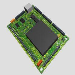 آموزش الکترونیک -اتصال LCD گرافیکی مدل توشیبا toshiba به میکروکنترلر AVR در نرم افزار بسکام برای نمایش عکس و اشکال هندسی و متن - نوشتهنرم افزار پروتئوس - proteus - مدار - شماتیک - طراحی - PCB - برد - الکترونیک - - الکتریک - برق - شبیه سازی - پروژه - پایان نامه- تحقیق - دانشجویی - بسکام